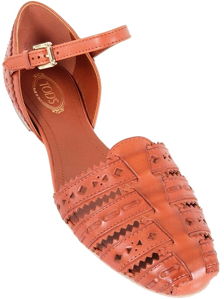 Tod's Leather Perforated Sandals ebay sale online under $60 discount release dates clearance pre order clearance huge surprise C8dB9i8J