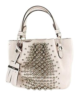 Tod's Micro Flower Womens Leather Shoulder Bag