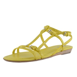 Tod's Strappy Yellow Sandals