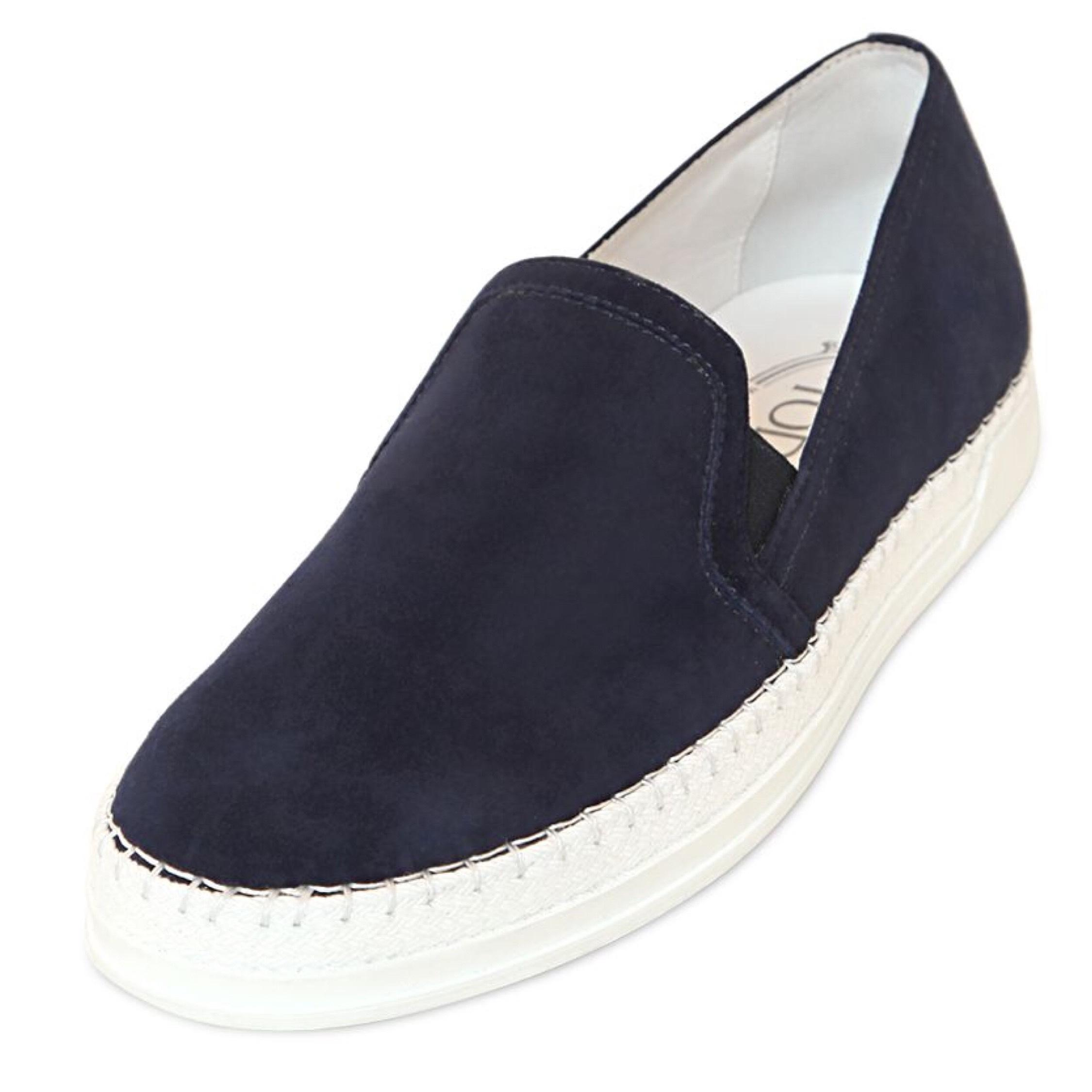 Tod's Suede Slip On Sneakers Sneakers Size EU 40 (Approx. US 10) Regular (M, B)