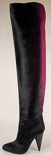 Tom Ford Fuchsia Ombre Over The Knee Heels Eu36 Black / Pink Boots