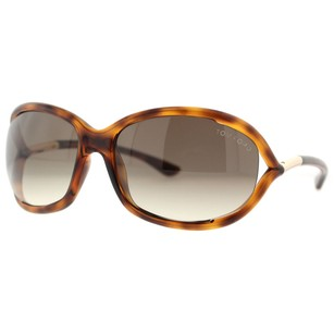Tom Ford Tom Ford Jennifer Havana Brown Gradient Women's Soft Square Sunglasses