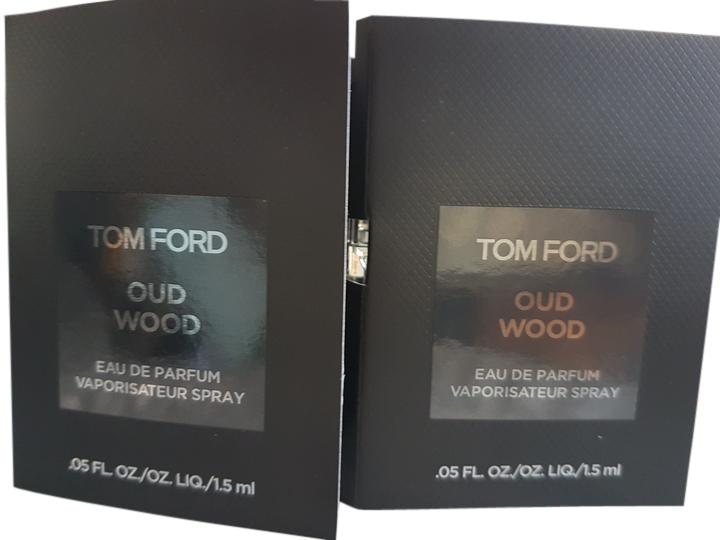 Tom Ford Clear Oud Wood Sample X 2 Fragrance from @ravenx ...