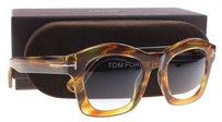 Tom Ford Tom Ford Women Brown 41W Greta 50mm Sunglasses