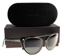 Tom Ford Tom Ford Women Cat Eye Black 01A Edita 58mm Sunglasses