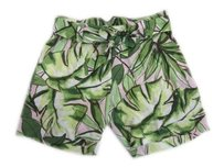 Tommy Bahama Womens Watercolor Palmier Leaf Pattern Bermuda Shorts Multi-Color
