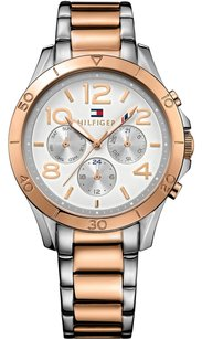 Tommy Hilfiger Tommy Hilfiger Women's 1781525 Sophisticated Sport Analog Display Quartz Two Tone Watch