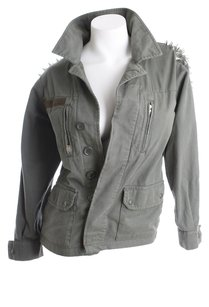 TopShop Petite Size 2 Military Jacket