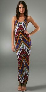 Maxi Dress by Torn by Ronny Kobo Bright Sleeveless Racer-back