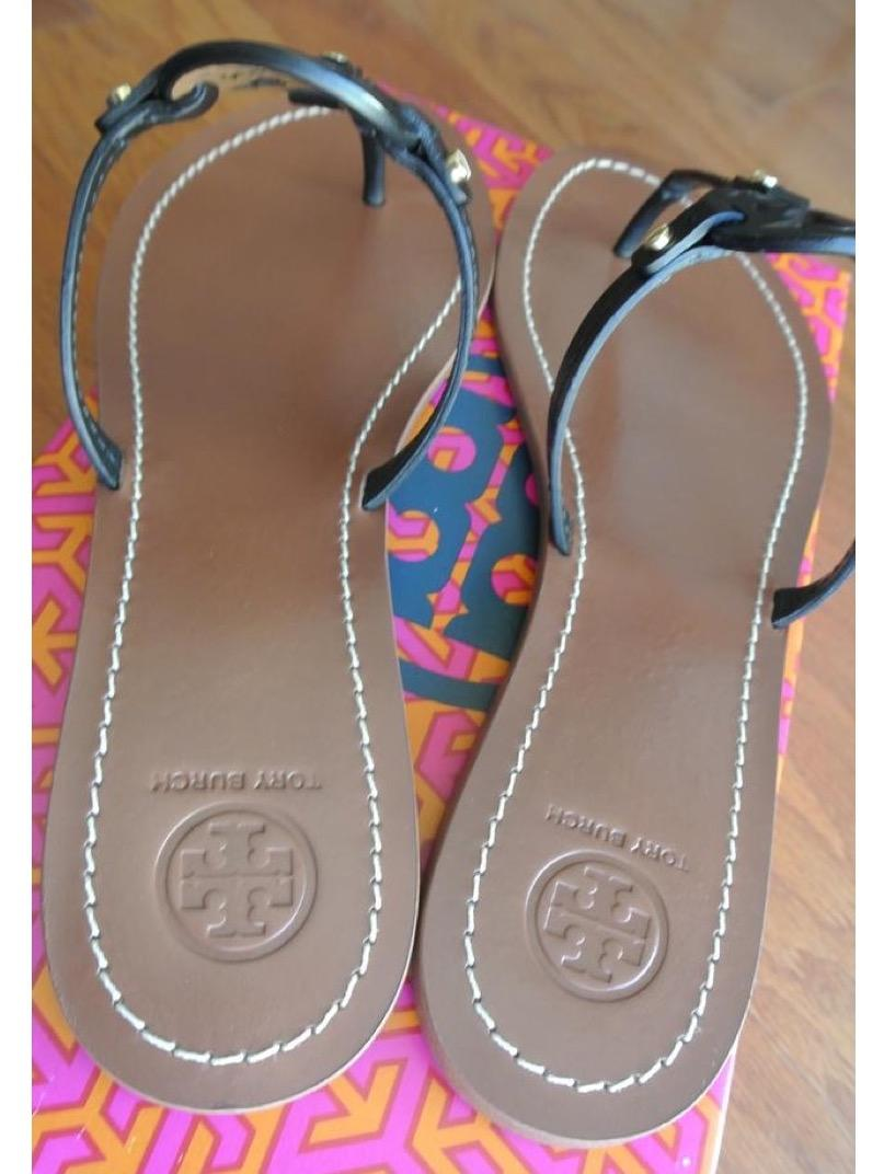 a359f0cd3 ... Tory Burch Burch Burch Black End-of-summer-sale Mini Miller Sandals Size  ...