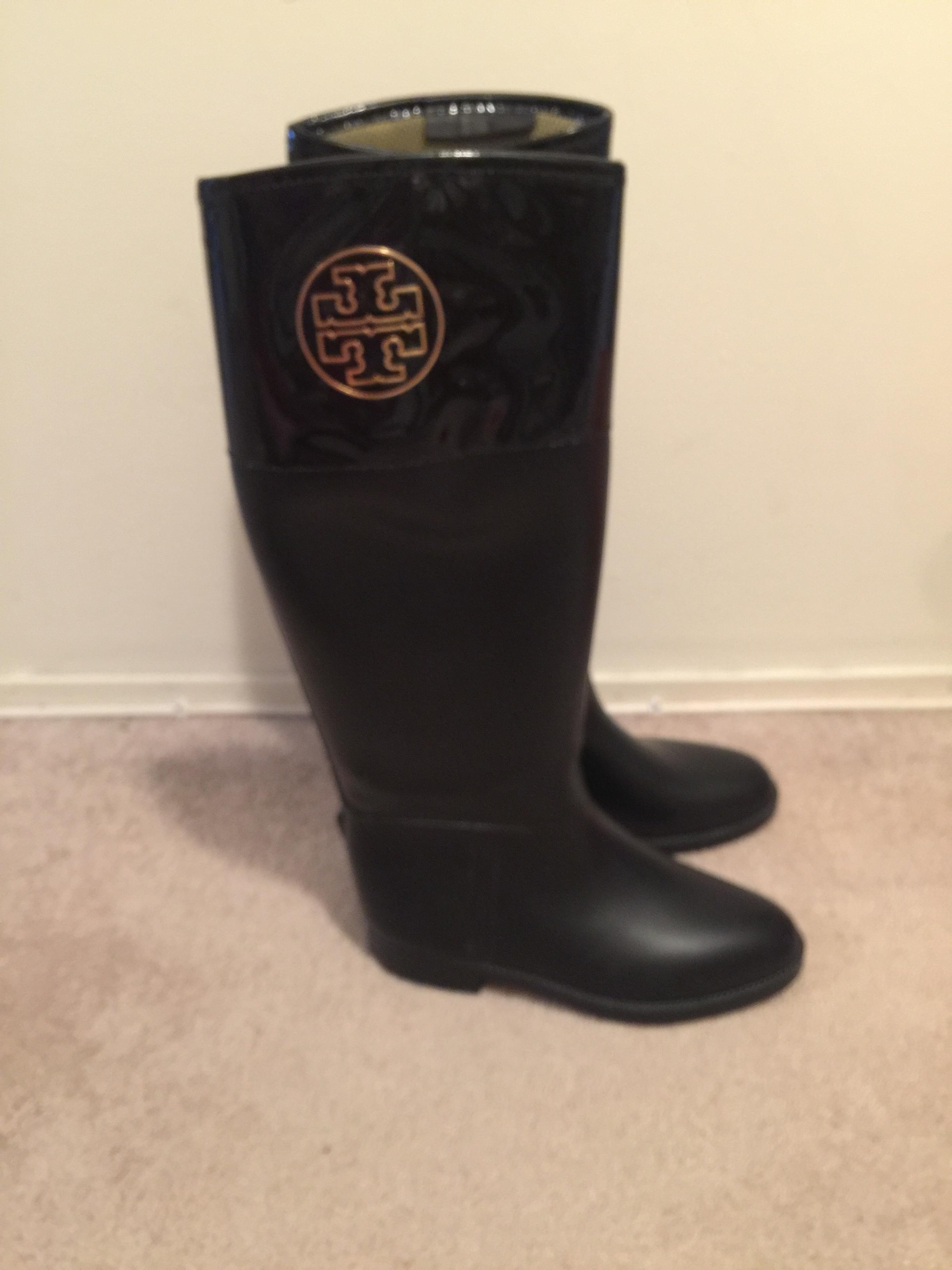 ed0a11b46022 ... coupon code for tory burch gold trendy stylish riding black boots cbdc8  bf416