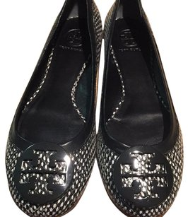 Tory Burch Black/white Flats