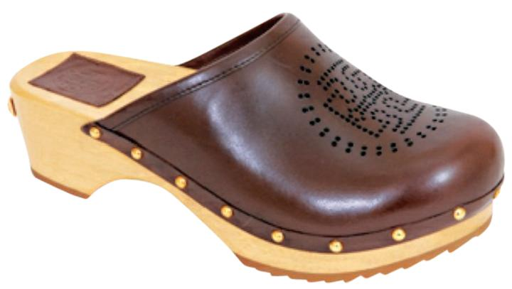 Tory Burch Leather Perforated Clogs buy cheap 100% authentic outlet clearance buy cheap pick a best FxMf65