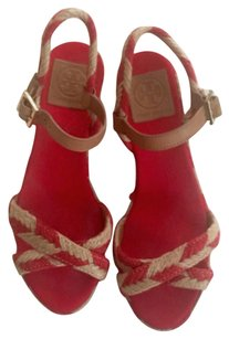 Tory Burch Camellia red Sandals