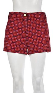 Tory Burch Bryt Womens Pink Shorts Multi-Color