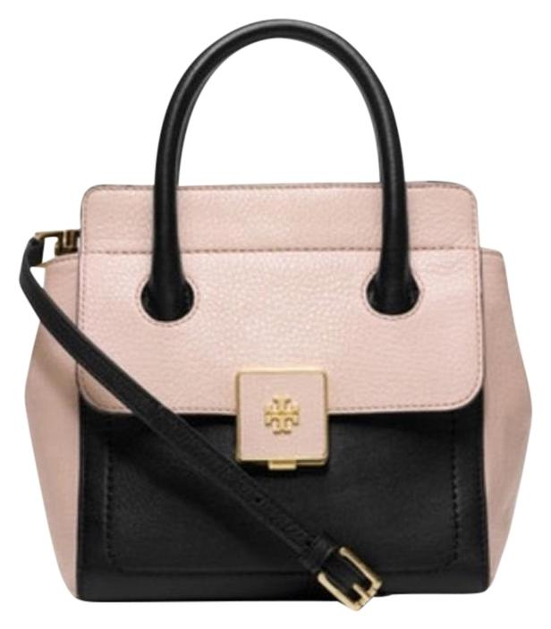 Tory Burch Clara Small Black And Pink Tote Bag on Sale, 57% Off ...