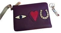 Tory Burch Sold Out Purple Clutch