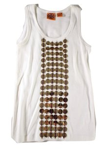 Tory Burch Cotton Sequin Tank Sun Top
