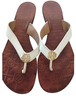 Tory Burch Cream Sandals