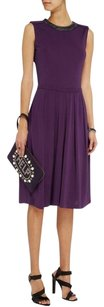 Tory Burch Eva Jewel Purple Dress