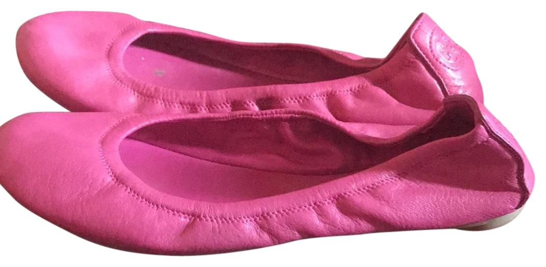 Tory Burch Hot Pink Unknown Flats Size US 8 Regular (M, B)