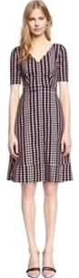 Tory Burch Jada Polkadot Purple Casual Dress