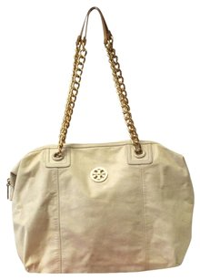 Tory Burch Large Gold Hardware Chain Shoulder Bag