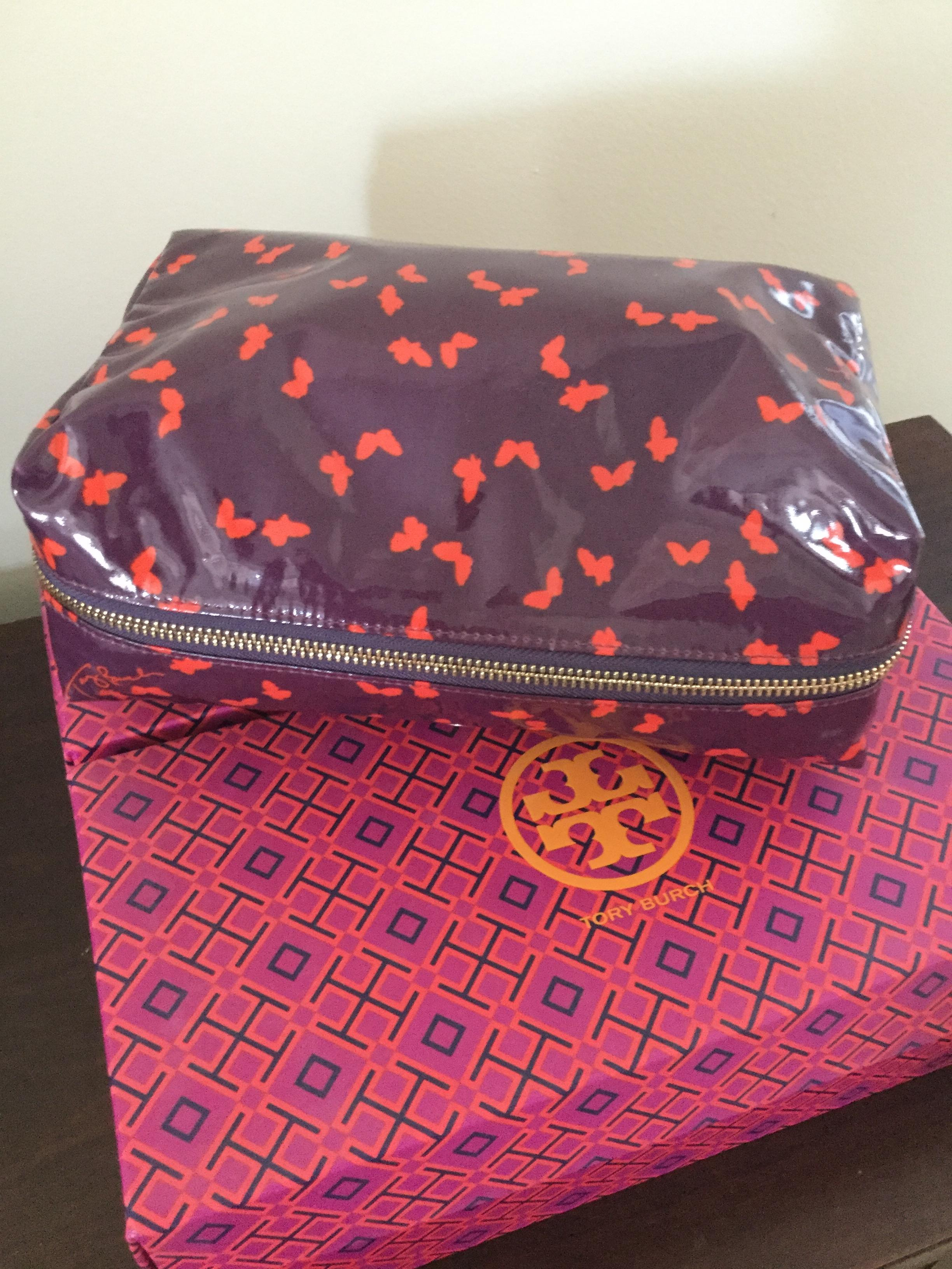 b2536c9182ed ... release date tory burch tory burch butterfly tribe violet dinah  cosmetic bag. 1234567891011 a50d2 931ea