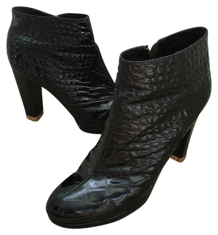 cheap supply Tory Burch Leigh Embossed Ankle Boots 2014 new cheap price 8PCzXFyoX