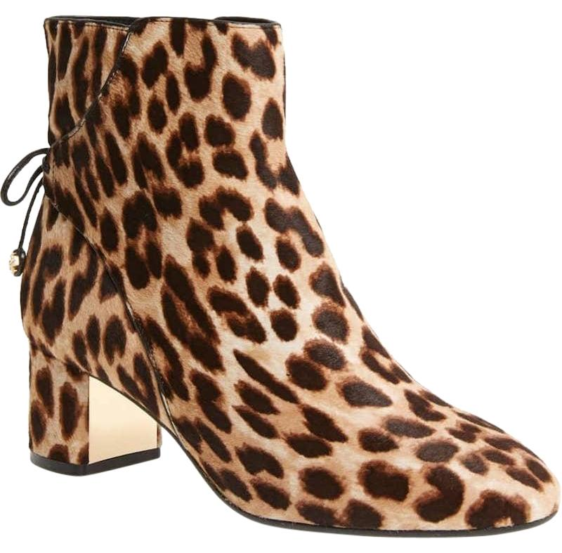 Tory Burch Leopard New Fall Winter Ankle Box Boots/Booties Size US 10 Regular (M, B)
