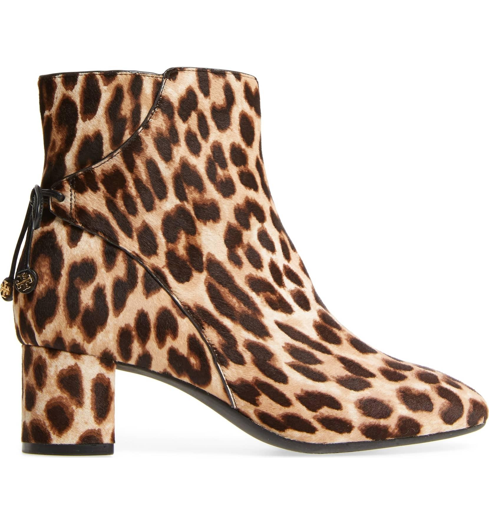 cf4d3f4dd720 ... Tory Burch Leopard New Fall Winter Ankle Box Boots Booties Boots Booties  Boots  ...