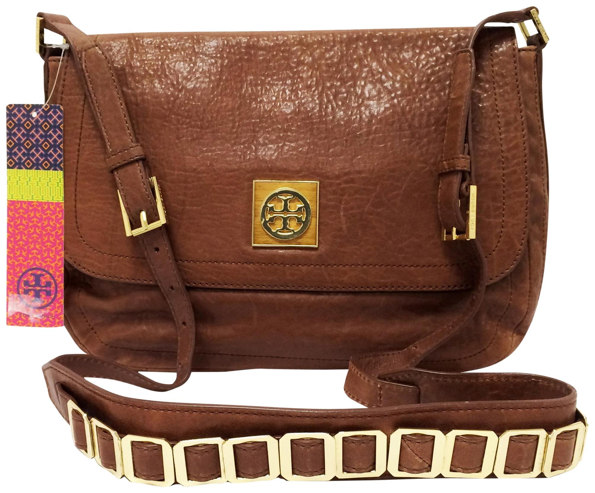 f53884c9f1883 ... clearance tory burch leather small coffee messenger bag 0eb94 226e2