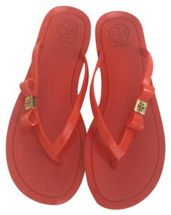 Tory Burch Michaela Flip Flops Orange Sandals