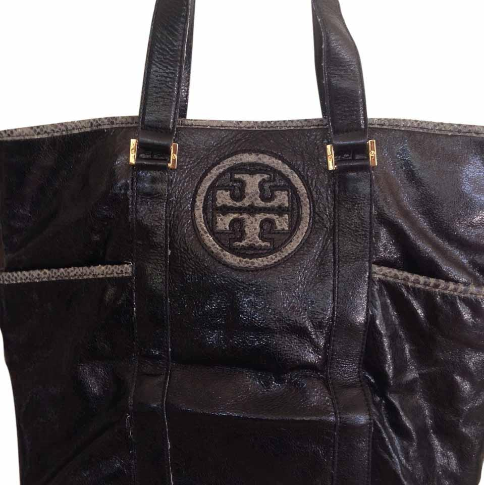Tory Burch Tory Burch Patent Leather Tote HyWOzI