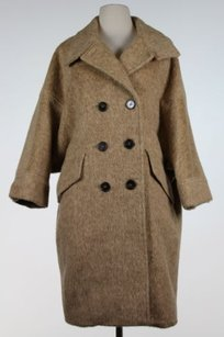 Tory Burch Womens Solid Pea Coat