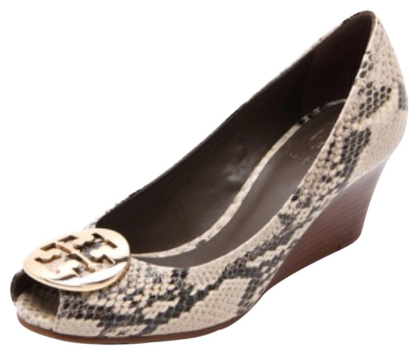 Tory Burch Python Pointed-Toe Pumps cheap prices authentic JBgyEtz7g