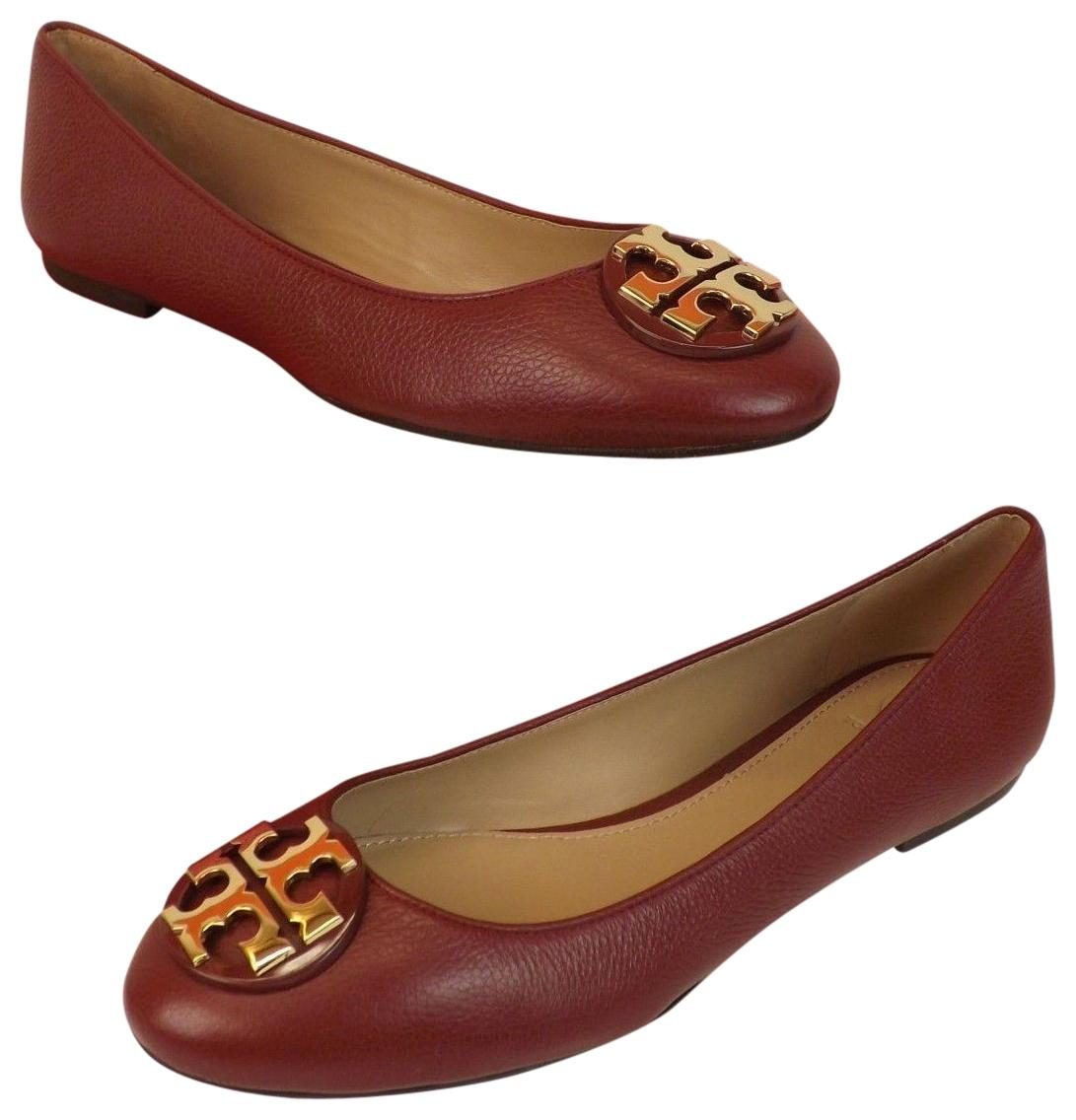 0a55a3eeabf9 ... discount code for tory burch red agate gold flats 409fb 690a3