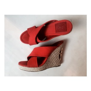 Tory Burch Kristen Wedge Red Wedges