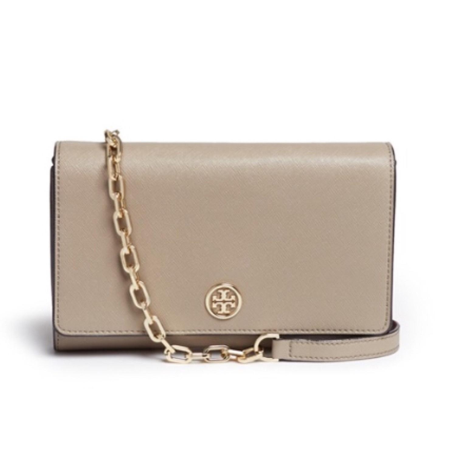 7e5b33b46866a ireland tory burch cross body bag 0b35e 23173  uk tory burch robinson chain  wallet french grey saffiano leather shoulder bag tradesy 17473 dc723