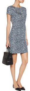 Tory Burch short dress Gray Silk Harriet Pleat Sheath Shift on Tradesy