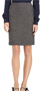 Tory Burch Skirt Navy and Tapioca
