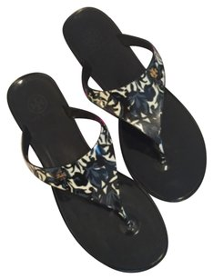 Tory Burch Speer Flip Flops black Sandals