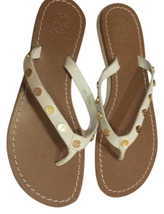 Tory Burch Leather Studded Sandals Inexpensive clearance fashionable tumblr online outlet choice yc2Jw