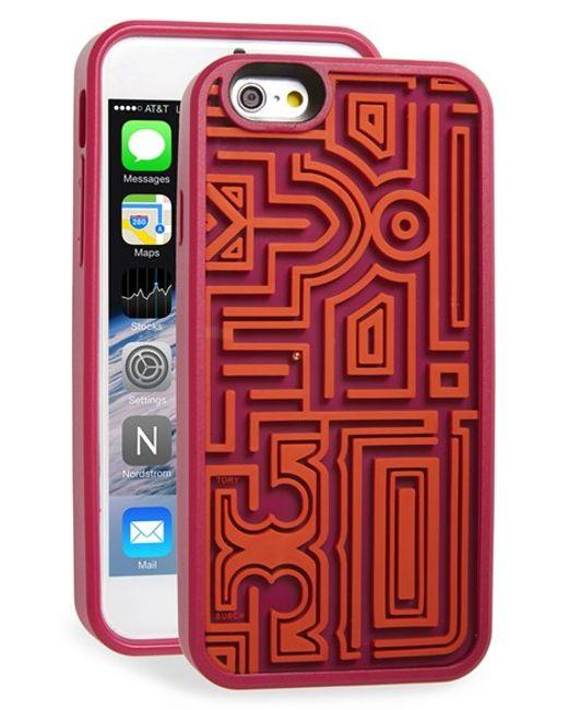 tory burch iphone 5 case burch gallery silicone for iphone 6s tradesy 5494
