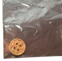 Tory Burch TORY BURCH REPLACEMENT BUTTON GOLD Small (1mm) NEW