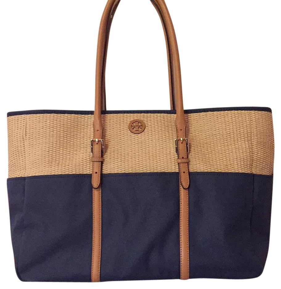 Tory Burch Straw tote-Diaper Baby Bag