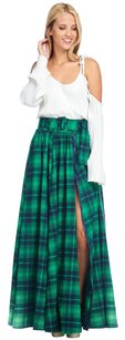TOV Holy Maxi Skirt Green