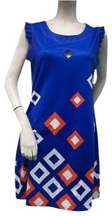 Tracy Negoshian Royal Blue Dress