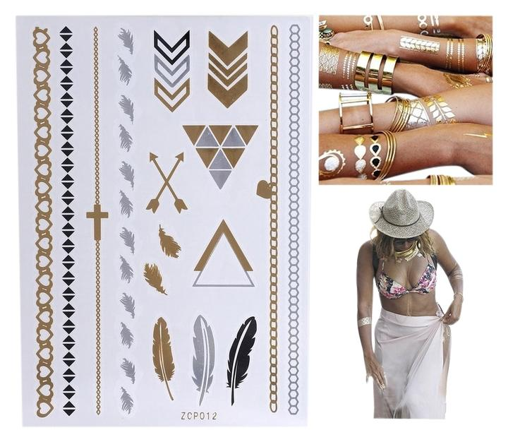 Trend Golden Foil Tattoos