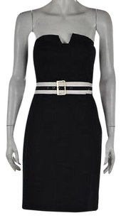 Trina Turk Womens Black Dress